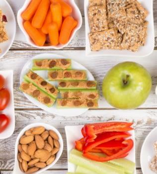Opciones de Snacks saludables