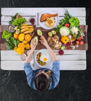 Equilibrio como el ingrediente esencial de tus comidas