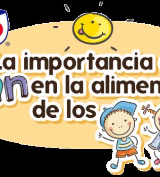 La importancia del Pan en la alimentación de los niños